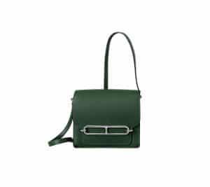 Hermes English Green Roulis 18 Bag