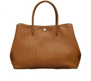 Hermes Gold Negonda Calfskin Garden Party 36 Bag