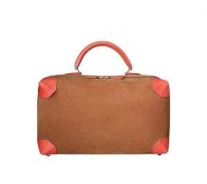 Hermes Grizzly Calfskin/Swift Calfskin Maxibox 37 Bag