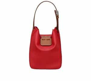 Hermes Red Virevolte 24 Bag