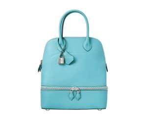 Hermes Saint-Cyr Blue Bolide Secret Bag