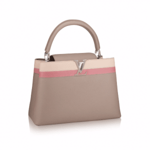 Louis Vuitton Beige Capucines MM Bag