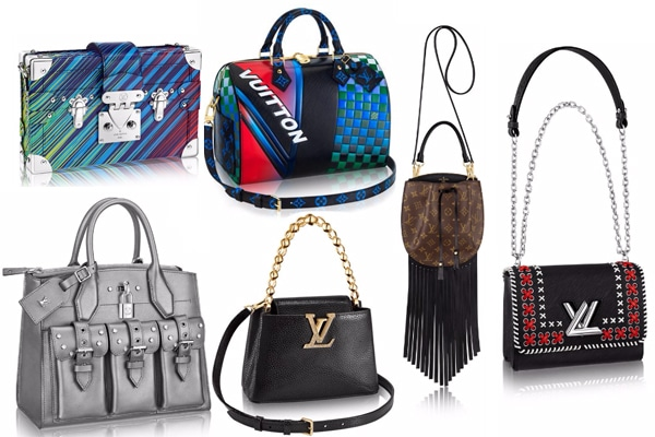 b8b61f2b69ee Louis Vuitton Cruise 2017 Bag Collection