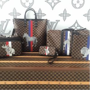 Louis Vuitton Damier Ebene Savane Collection