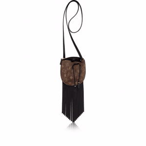 Louis Vuitton Monogram Canvas Fringed Mini Noe Bag