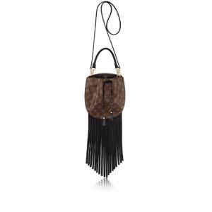 Louis Vuitton Monogram Canvas Fringed Noe Bag