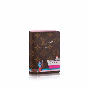 Louis Vuitton Monogram Canvas Transatlantic Cruises Print Passport Cover