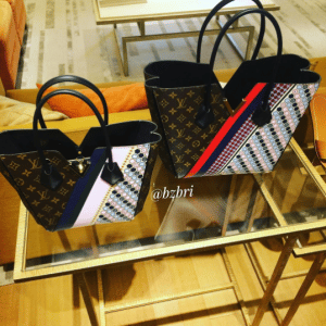 Louis Vuitton Monogram Canvas with Multicolor Graphic Pattern Kimono Bags