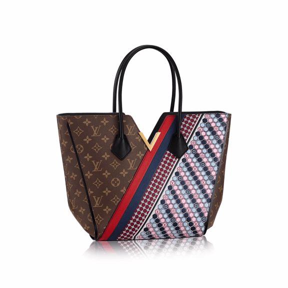 Louis Vuitton Monogram Canvas with Multicolor Graphic Pattern Kimono MM Bag