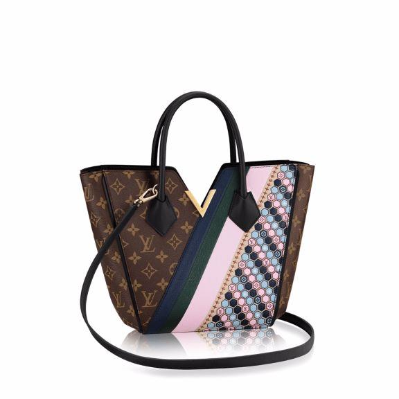 Louis Vuitton Monogram Canvas with Multicolor Graphic Pattern Kimono PM Bag