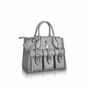 Louis Vuitton Silver City Steamer PM Bag