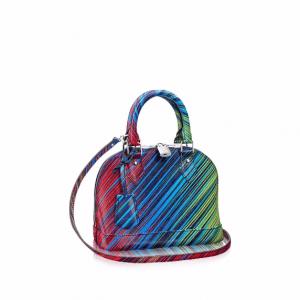 Louis Vuitton Vert Multicolor Epi Tropical Alma BB Bag