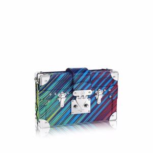 Louis Vuitton Vert Multicolor Epi Tropical Petite Malle Bag