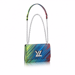 Louis Vuitton Vert Multicolor Epi Tropical Twist MM Bag