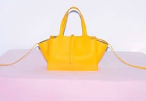 Celine Citrus Small Tri-fold Shoulder Bag
