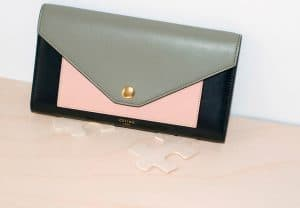 Celine Multicolor Pocket Trifolded Multifunction
