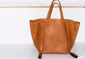 Celine Tan Medium Cabas Phantom Bag