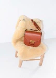 Celine Terracotta Small Trotteur Shoulder Bag