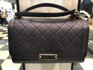 Chanel Black Label Click Large Flap Bag