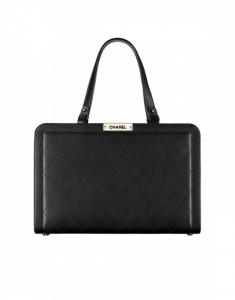 Chanel Black Label Click Large Shopping Tote Bag