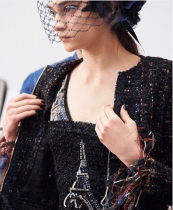 Chanel Black Tweed and Beaded Jacket - Pre-Fall 2017