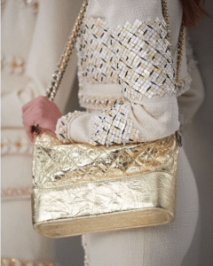 Chanel Gold Shoulder Bag - Pre-Fall 2017