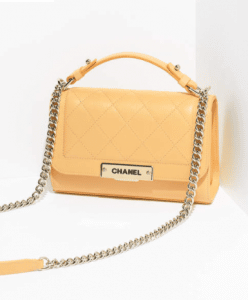 Chanel Yellow Label Click Small Flap Bag 2