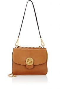 Chloe Caramel Medium Mily Shoulder Bag