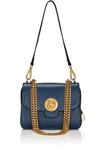 Chloe Denim Blue Medium Mily Shoulder Bag