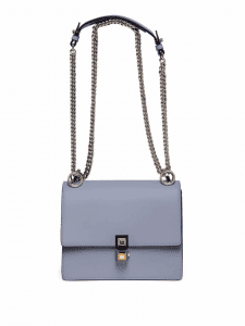 Fendi Blue Kan I Crossbody Bag