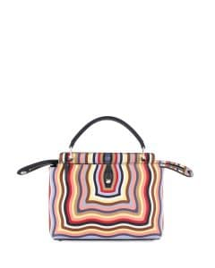 Fendi Multicolor Hypnotic Medium Dotcom Bag
