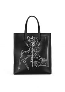 Givenchy Black Bambi Print Stargate Small Bag