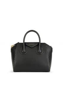 Givenchy Black Chain Piping Antigona Small Bag