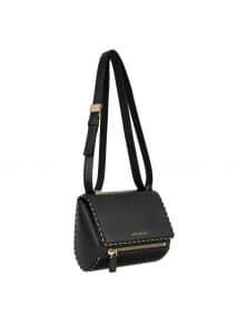 Givenchy Black Chain Piping Pandora Box Mini Bag