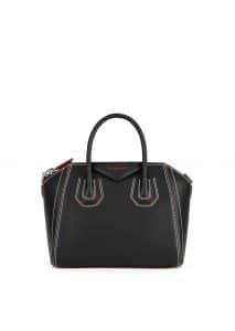 Givenchy Black with Bicolor Details Antigona Small Bag
