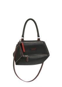 Givenchy Black with Bicolor Details Pandora Small Bag