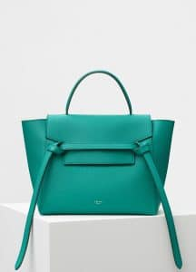 Celine Cactus Grained Calfskin Micro Belt Bag