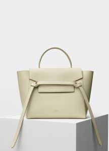 Celine Linen Grained Calfskin Micro Belt Bag