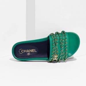 Chanel Mule Pool Slides 1