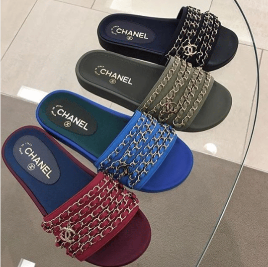 Designer Pool Slide Sandals For Spring Summer 2017
