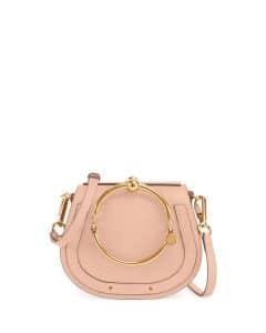 Chloe Beige Nile Small Bracelet Crossbody Bag