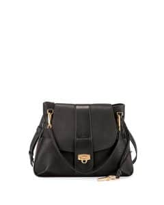 Chloe Black Lexa Small Shoulder Bag