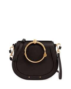 Chloe Black Nile Medium Bracelet Crossbody Bag