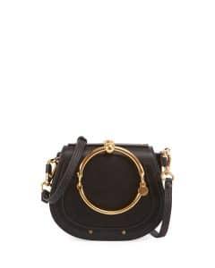 Chloe Black Nile Small Bracelet Crossbody Bag
