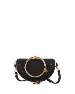 Chloe Black Nile Small Bracelet Minaudiere Bag
