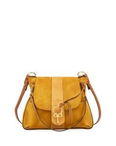 Chloe Brown Lexa Medium Shoulder Bag