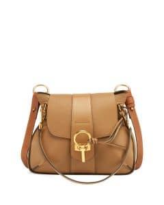 Chloe Brown Lexa Small Shoulder Bag