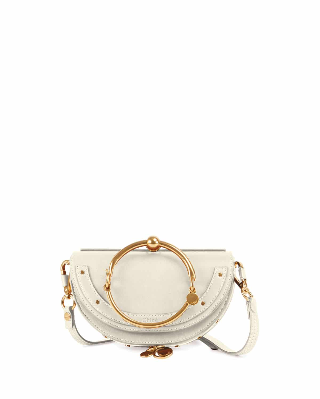 Small Nile leather bracelet bag Chlo R2GK4MR