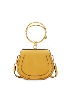 Chloe Yellow Nile Small Bracelet Crossbody Bag