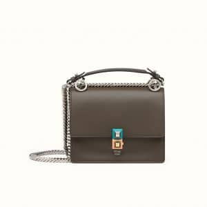 Fendi Coal Kan I Small Bag